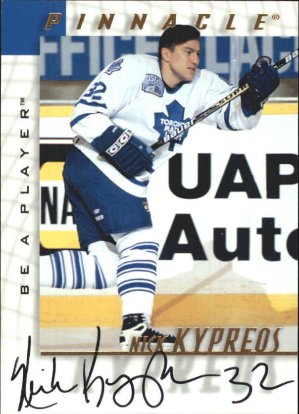 1997-98 Be A Player Autographs #128 Nick Kypreos