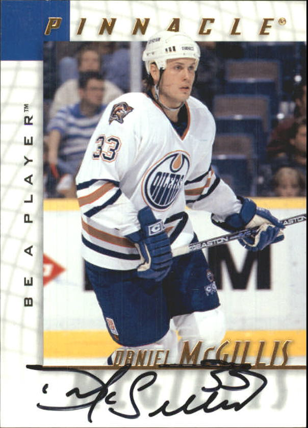 1997-98 Be A Player Autographs #131 Daniel McGillis