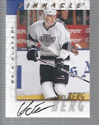 1997-98 Be A Player Autographs #155 Aki Berg