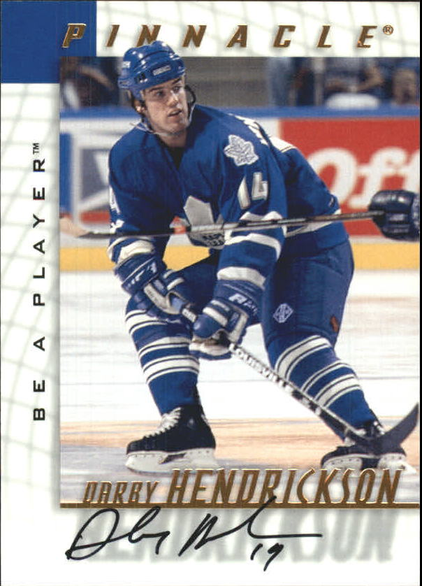 1997-98 Be A Player Autographs #178 Darby Hendrickson