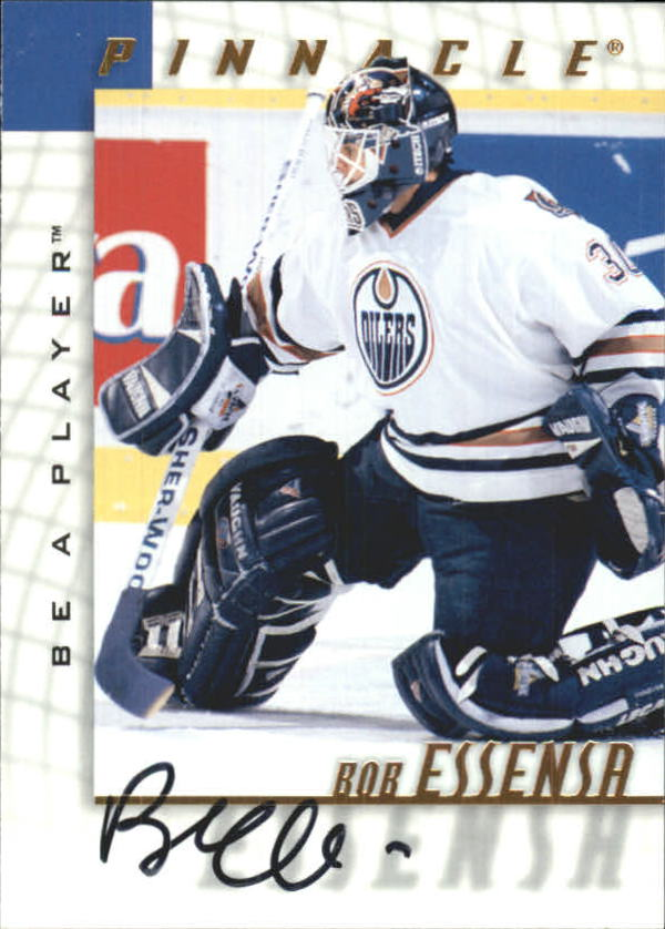 1997-98 Be A Player Autographs #185 Bob Essensa