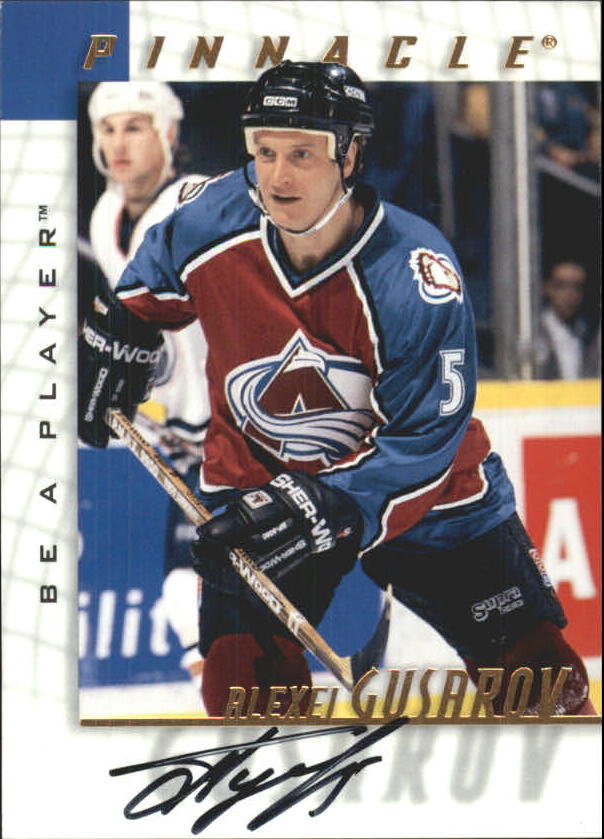 1997-98 Be A Player Autographs #196 Alexei Gusarov