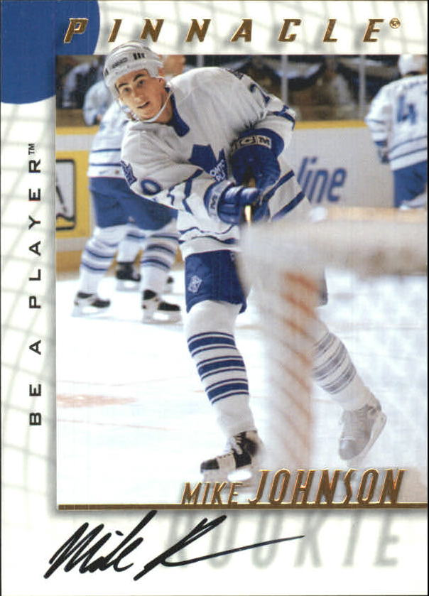 1997-98 Be A Player Autographs #218 Mike Johnson