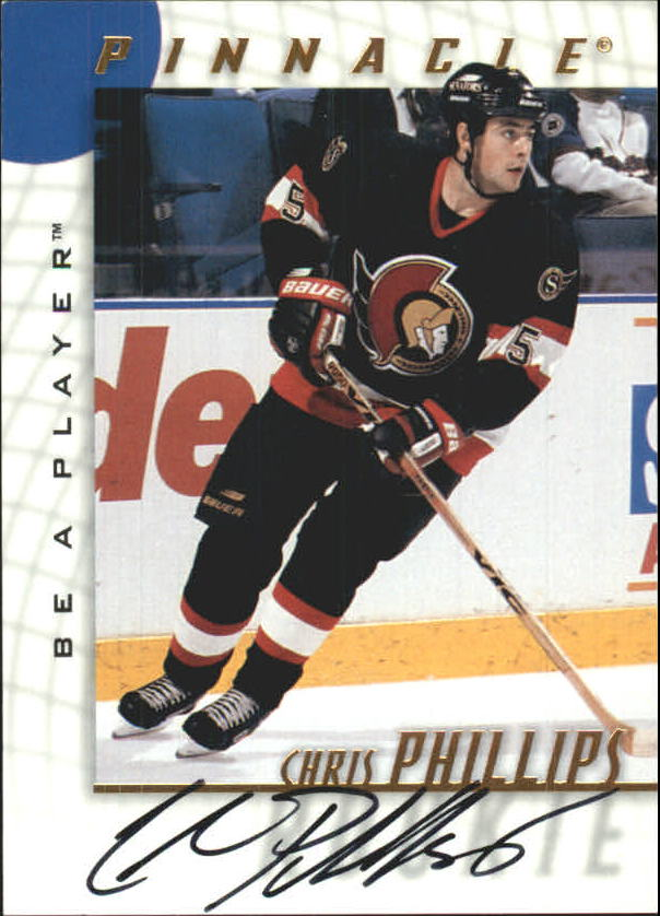 1997-98 Be A Player Autographs #219 Chris Phillips