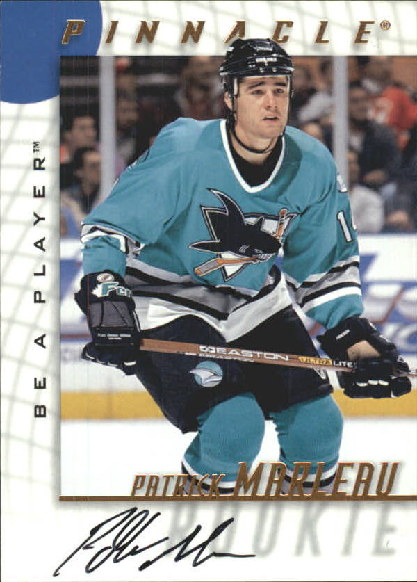 1997-98 Be A Player Autographs #221 Patrick Marleau