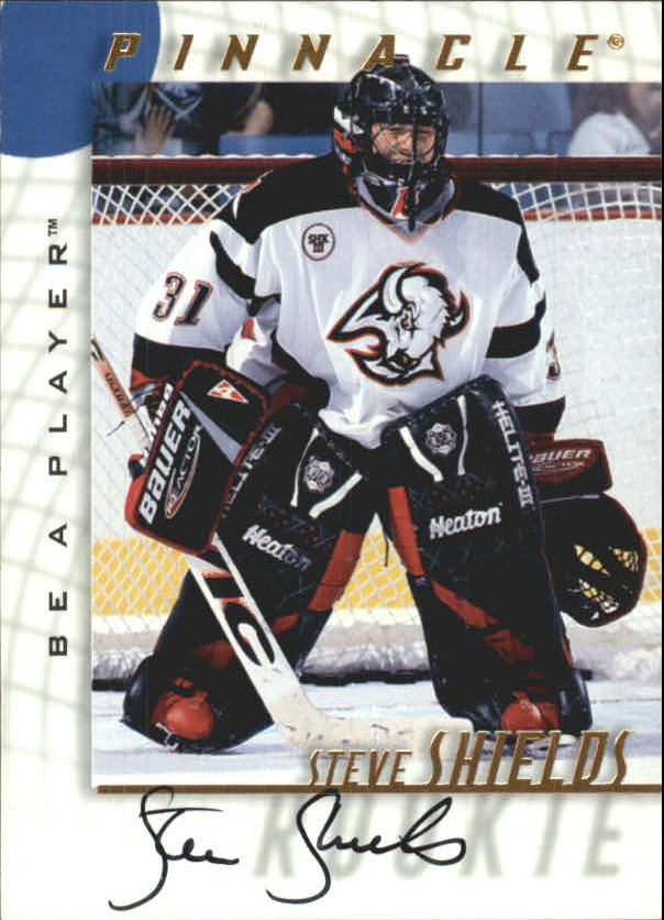 1997-98 Be A Player Autographs #233 Steve Shields