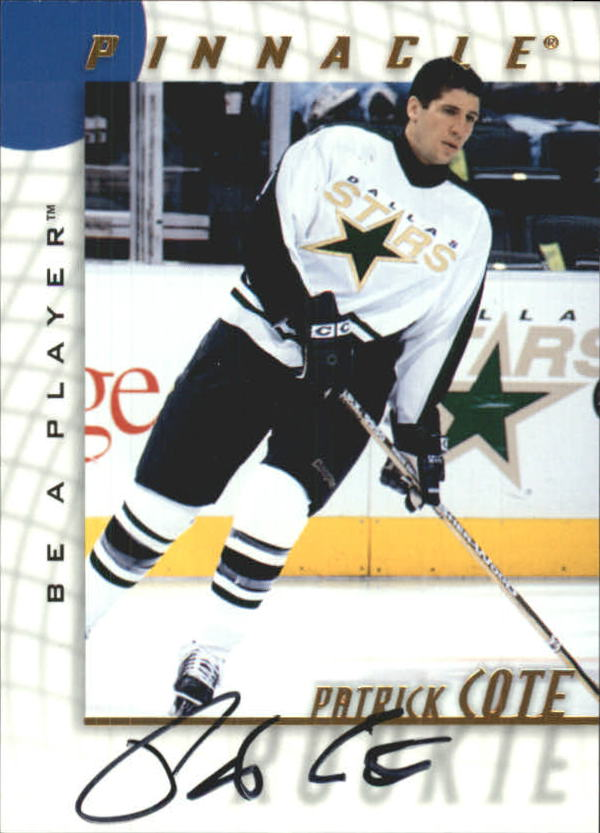 1997-98 Be A Player Autographs #235 Patrick Cote