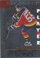 1997-98 Be A Player Autographs Die Cut #21 Ed Jovanovski
