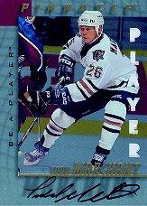 1997-98 Be A Player Autographs Die Cut #72 Todd Marchant