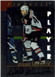 1997-98 Be A Player Autographs Die Cut #74 Richard Smehlik