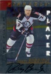 1997-98 Be A Player Autographs Die Cut #79 Randy Burridge