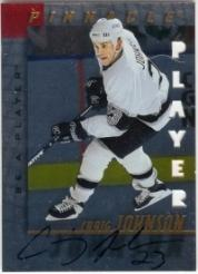 1997-98 Be A Player Autographs Die Cut #100 Craig Johnson