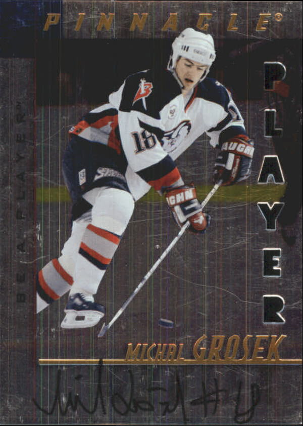 1997-98 Be A Player Autographs Die Cut #187 Michal Grosek