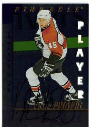 1997-98 Be A Player Autographs Die Cut #213 Vaclav Prospal
