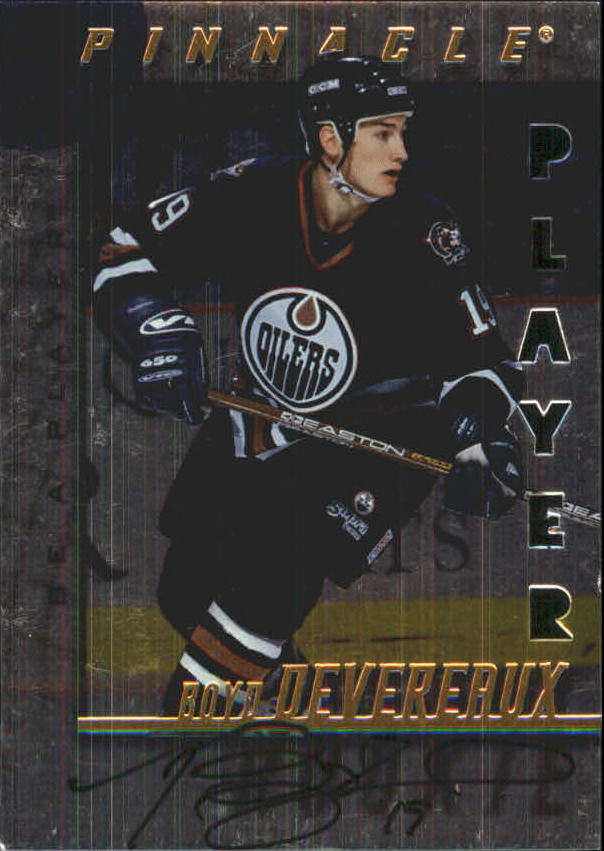 1997-98 Be A Player Autographs Die Cut #237 Boyd Devereaux