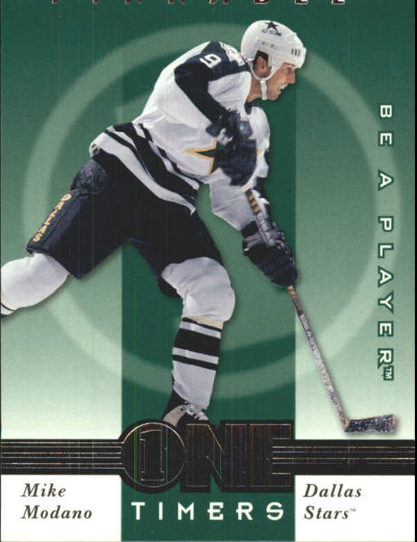1997-98 Be A Player One Timers #10 Mike Modano