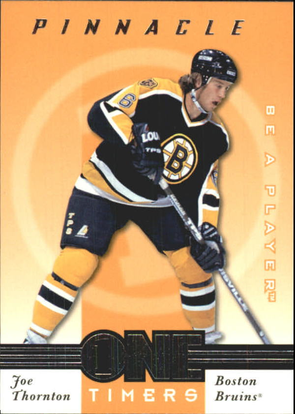 1997-98 Be A Player One Timers #20 Joe Thornton