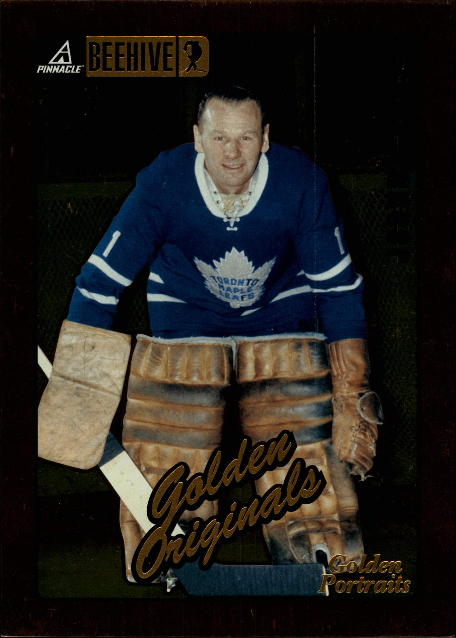 1997-98 Beehive Golden Portraits #57 Johnny Bower GO