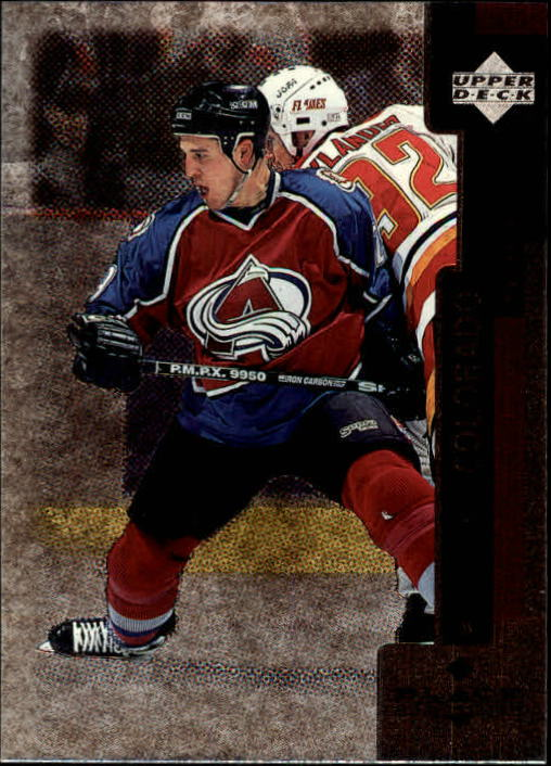 1997-98 Black Diamond #13 Eric Messier RC