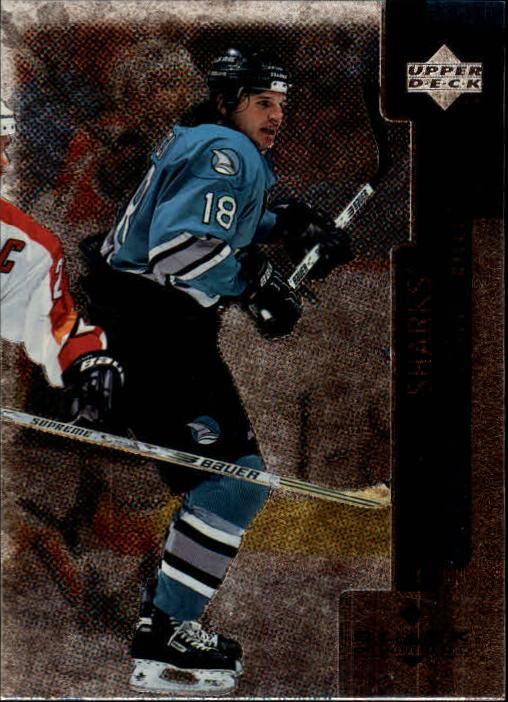 1997-98 Black Diamond #64 Mike Ricci