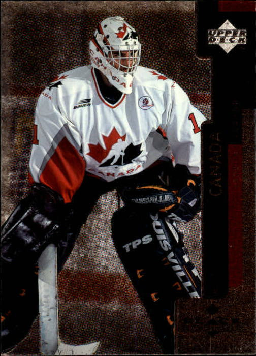 1997-98 Black Diamond #131 Roberto Luongo RC