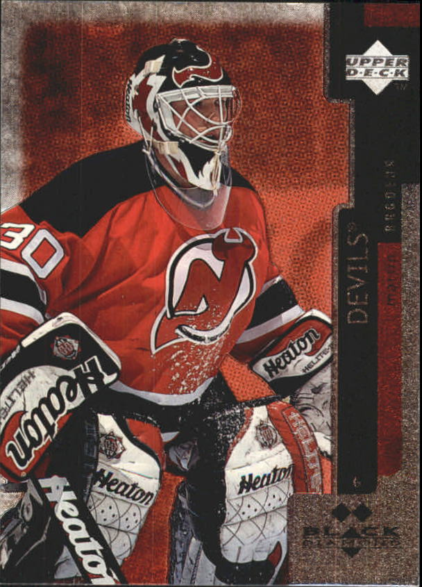 1997-98 Black Diamond Double Diamond #122 Martin Brodeur