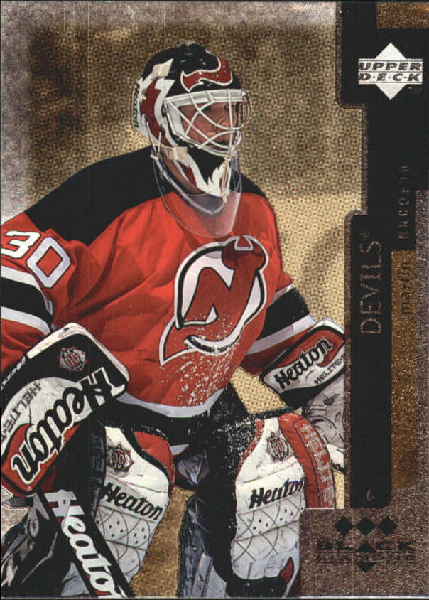 1997-98 Black Diamond Triple Diamond #122 Martin Brodeur