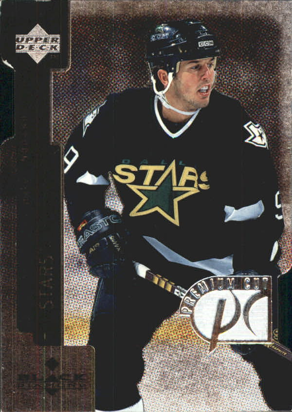 1997-98 Black Diamond Premium Cut #PC25 Mike Modano