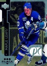 1997-98 Black Diamond Premium Cut Triple Diamond #PC10 Brian Leetch