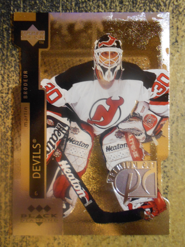 1997-98 Black Diamond Premium Cut Triple Diamond #PC24 Martin Brodeur