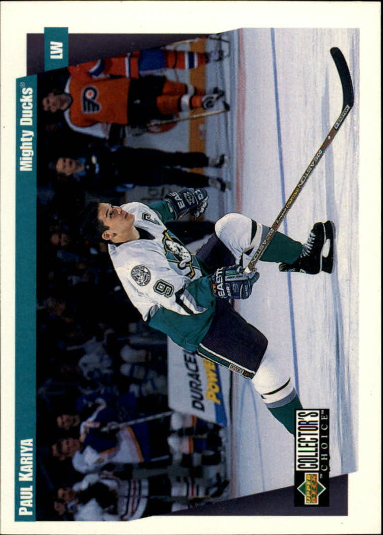1997-98 Collector's Choice #9 Paul Kariya
