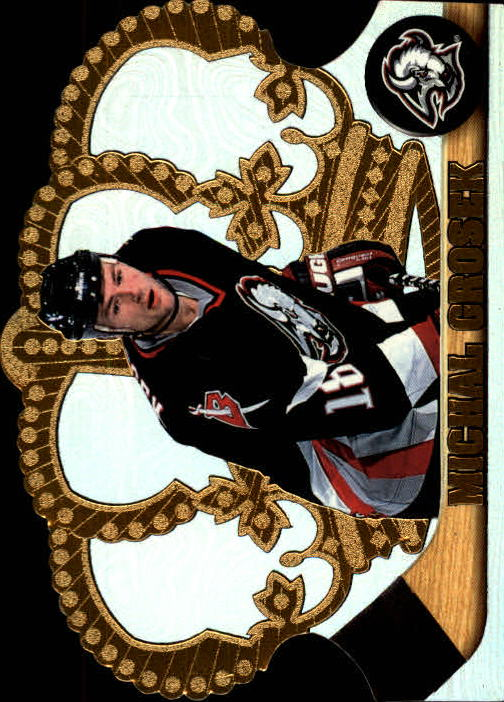 1997-98 Crown Royale #13 Michal Grosek