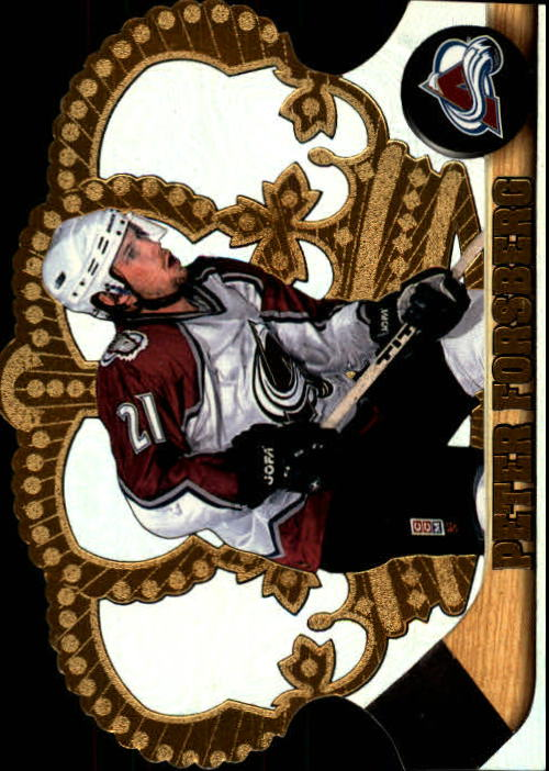 1997-98 Crown Royale #33 Peter Forsberg