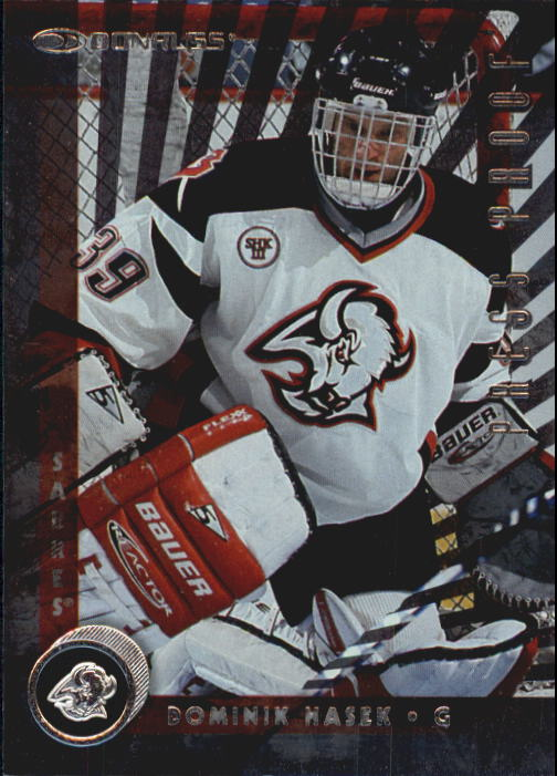 1997-98 Donruss Press Proofs Silver #9 Dominik Hasek