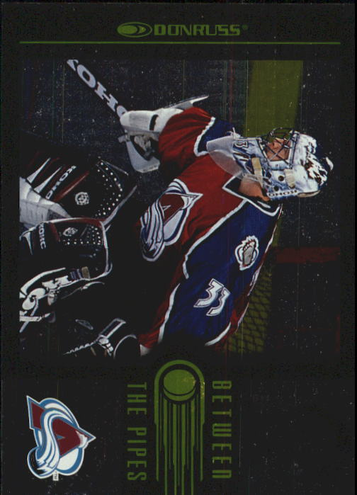 1997-98 Donruss Between The Pipes #1 Patrick Roy