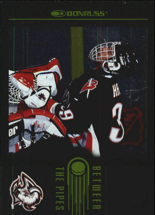 1997-98 Donruss Between The Pipes #4 Dominik Hasek
