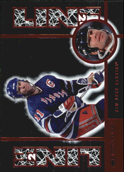 1997-98 Donruss Line 2 Line #23 Mark Messier R