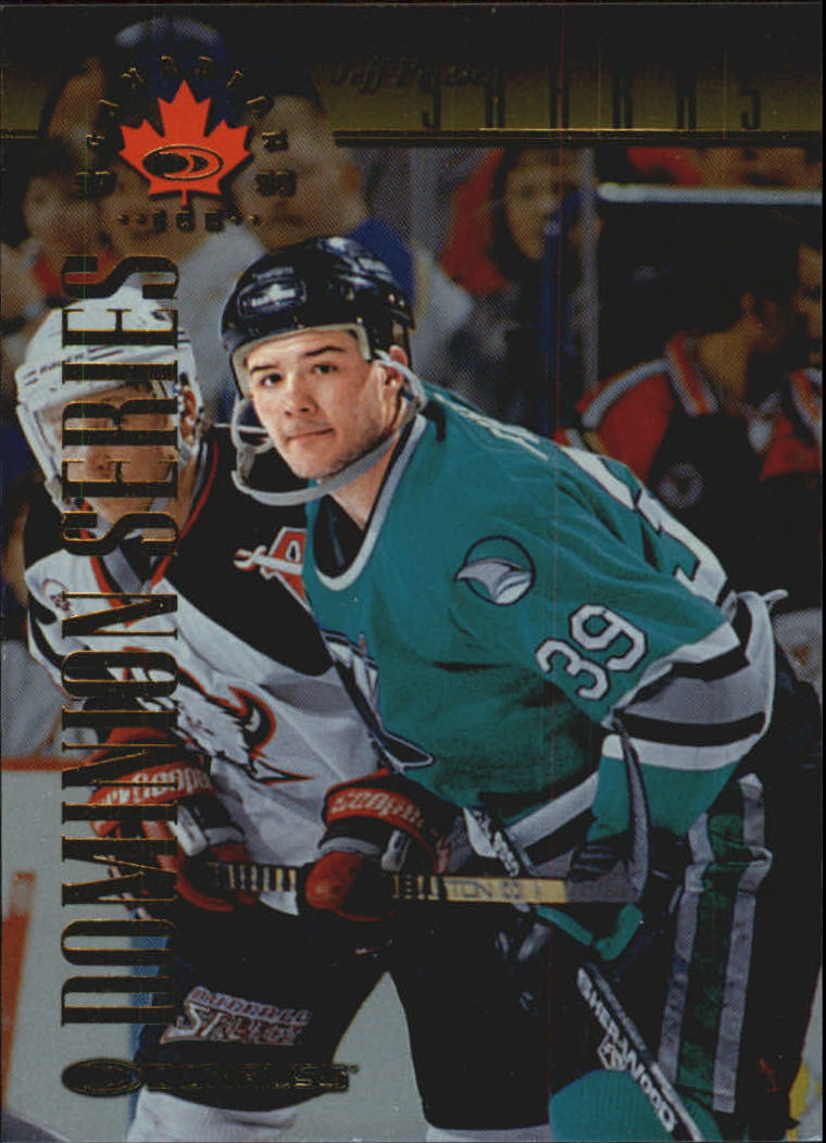1997-98 Donruss Canadian Ice Dominion Series #81 Jeff Friesen