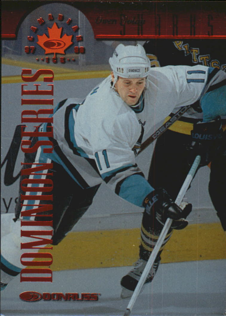 1997-98 Donruss Canadian Ice Dominion Series #108 Owen Nolan