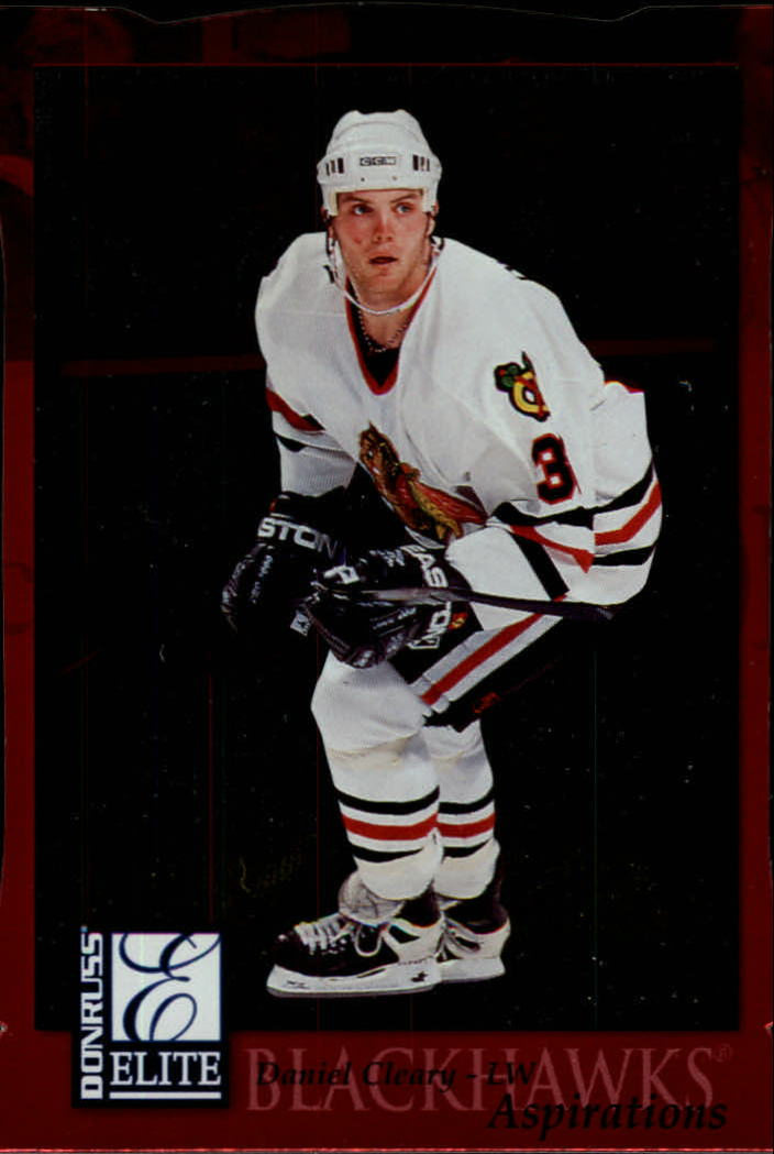 1997-98 Donruss Elite Aspirations #37 Daniel Cleary
