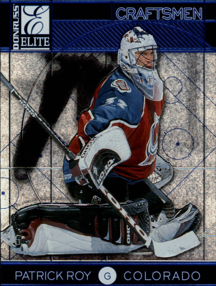 1997-98 Donruss Elite Craftsmen #14 Patrick Roy