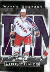 1997-98 Donruss Preferred Line of the Times #6A Wayne Gretzky