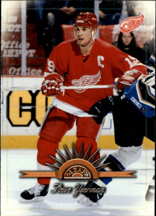 1997-98 Leaf #4 Steve Yzerman