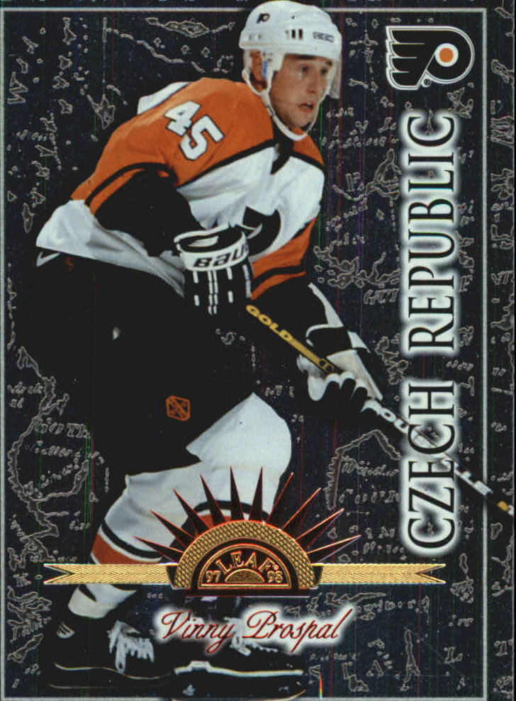 1997-98 Leaf International #132 Vaclav Prospal RC