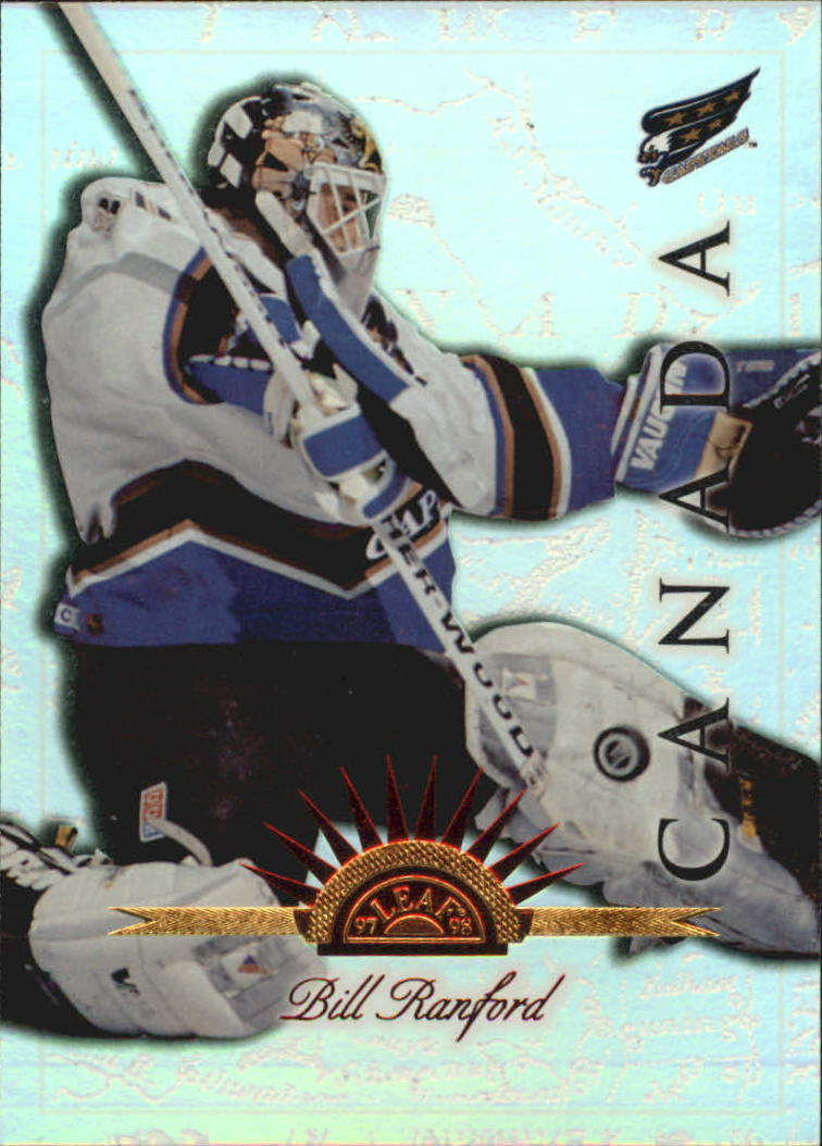 1997-98 Leaf International Universal Ice #33 Bill Ranford