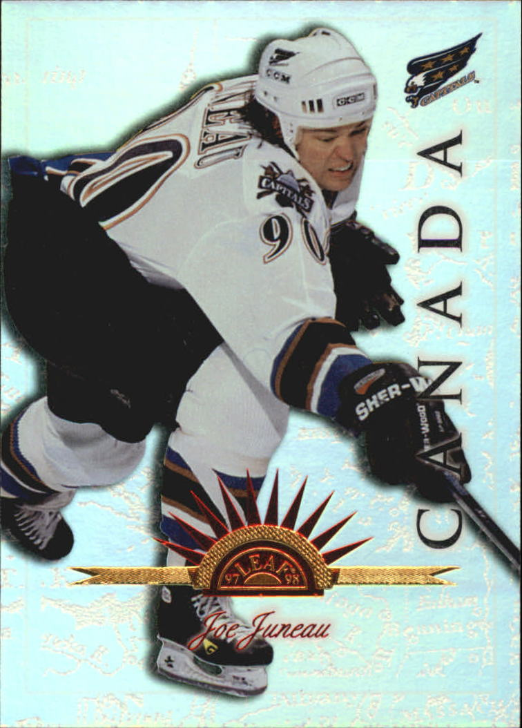 1997-98 Leaf International Universal Ice #53 Joe Juneau