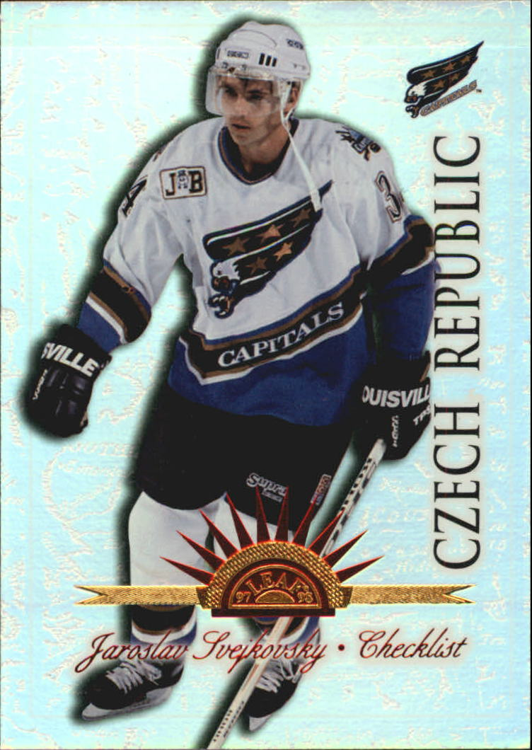 1997-98 Leaf International Universal Ice #67 Jaroslav Svejkovsky CL (38-74)