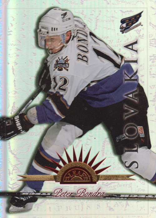 1997-98 Leaf International Universal Ice #91 Peter Bondra