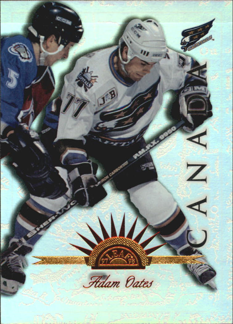 1997-98 Leaf International Universal Ice #130 Adam Oates