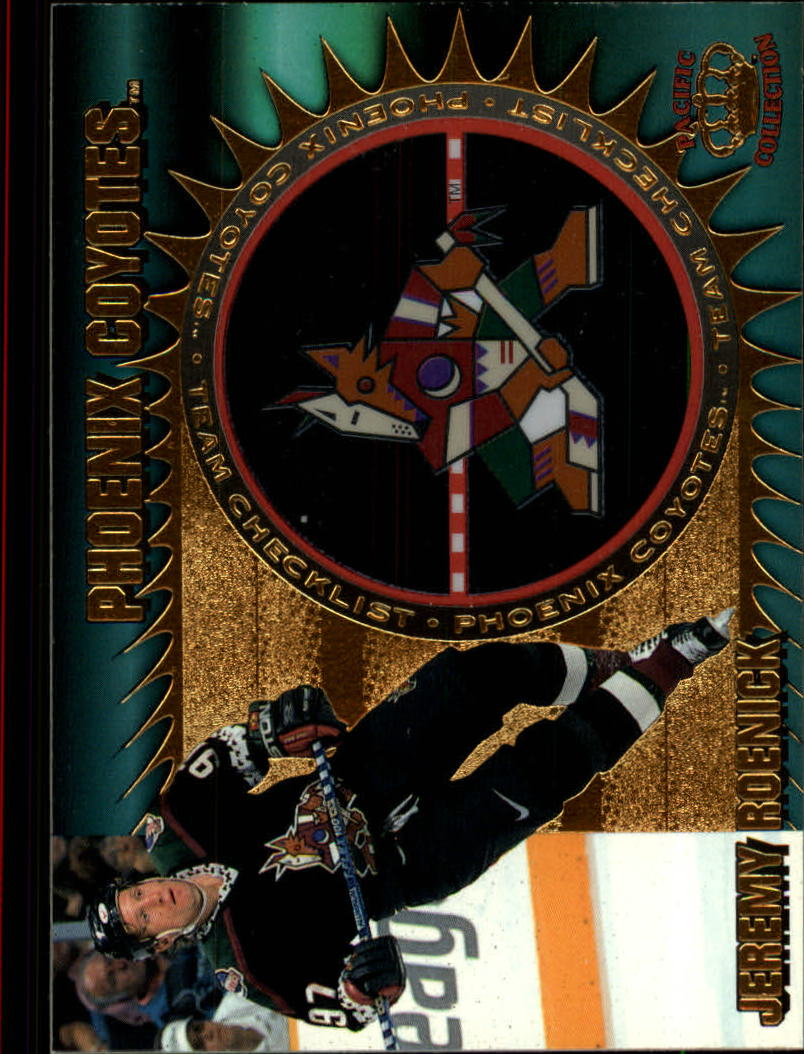 1997-98 Pacific Team Checklists #19 Jeremy Roenick